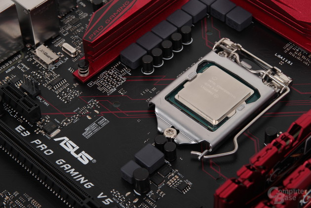 Asus E3 Pro Gaming V5 mit Intel Xeon E3-1230 v5