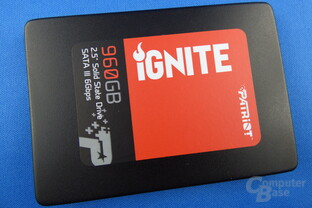 Patriot Ignite SSD 960 GB im Test