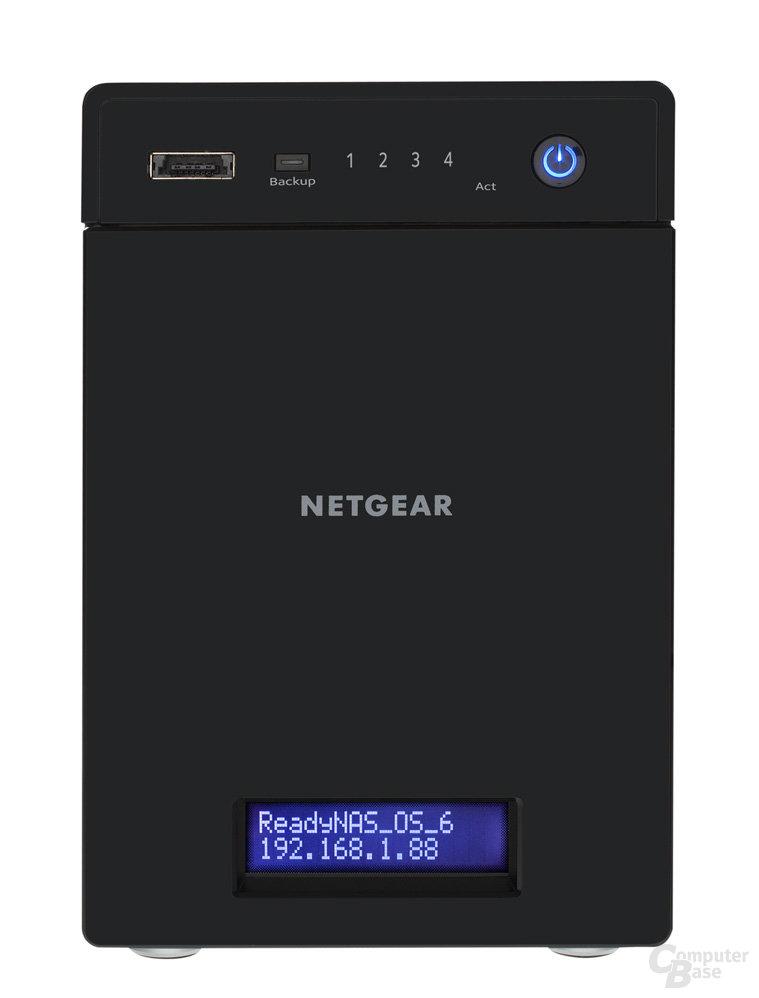 Netgear ReadyNAS RN214 – Vorderseite
