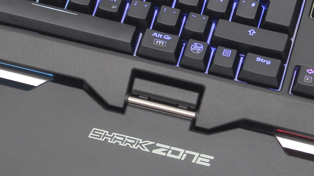 Sharkoon MK80 RGB im Test: Programmierbare Taster und RGB-LEDs für 130 Euro