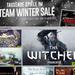 Winter Sale: Rabattschlacht auf Steam erstmals mit Comic