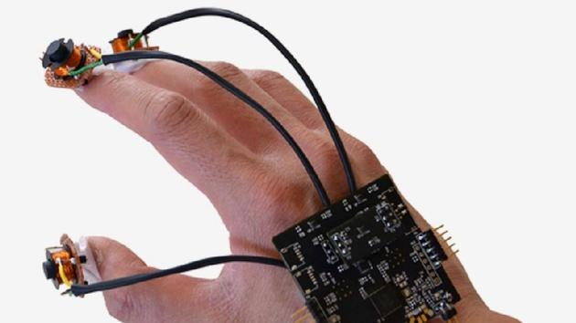 Virtuelle Realität: Finger-Tracking mit Elektromagneten