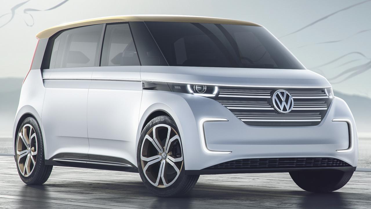 VW Budd-E: Der Bulli wird elektrisch und steuert das Haus