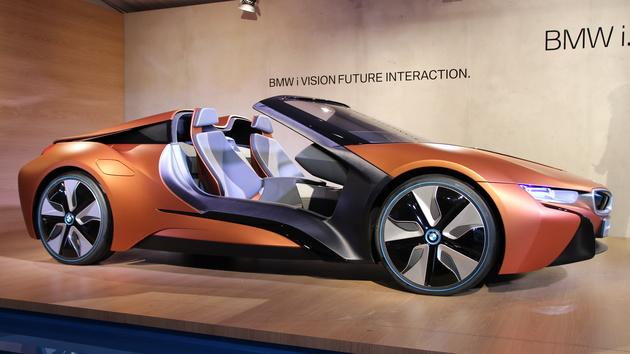 BMW AirTouch: Berührungslose Touchscreens im i Vision Future Interaction