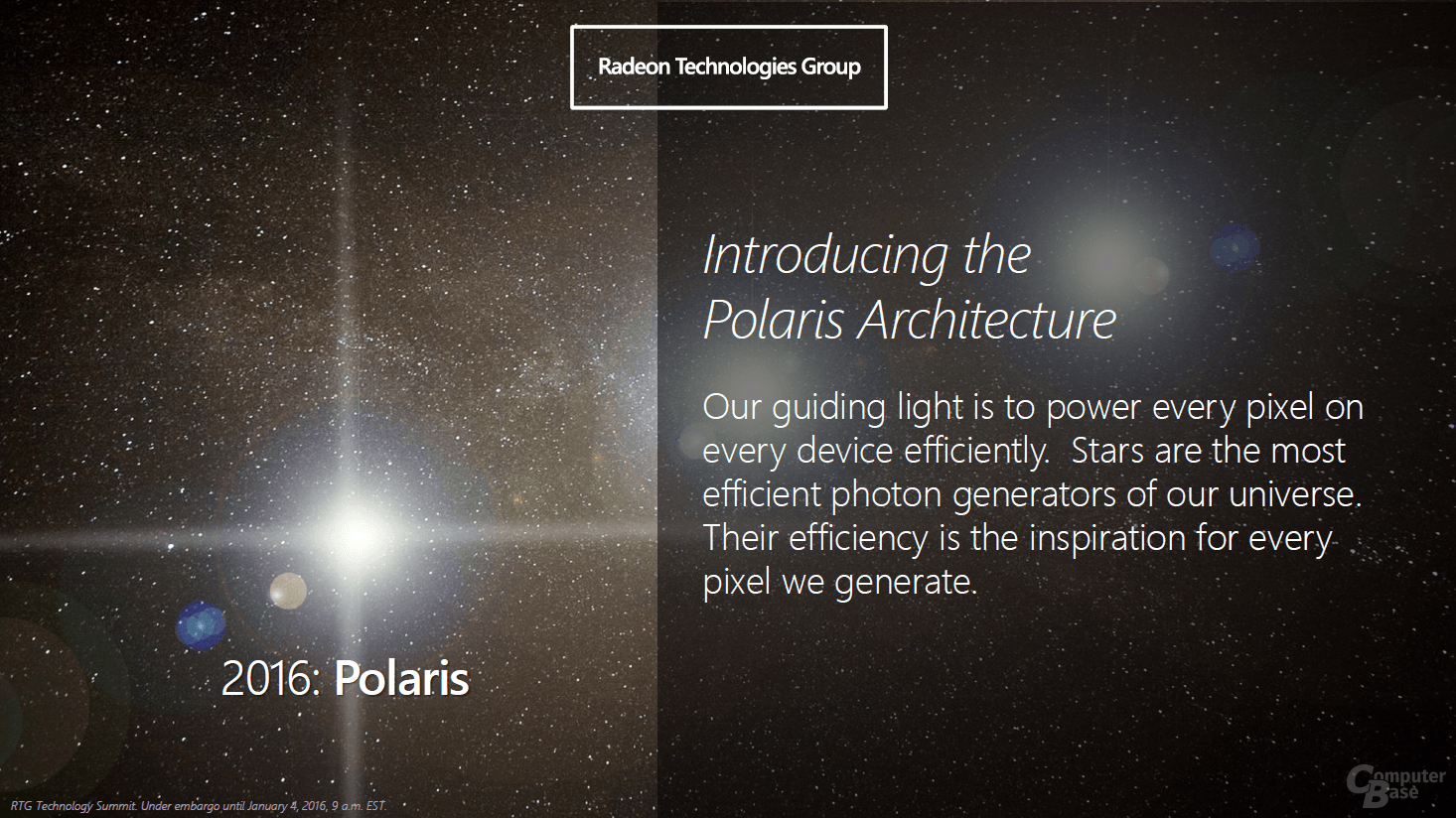 AMD Polaris-Architektur für GPUs
