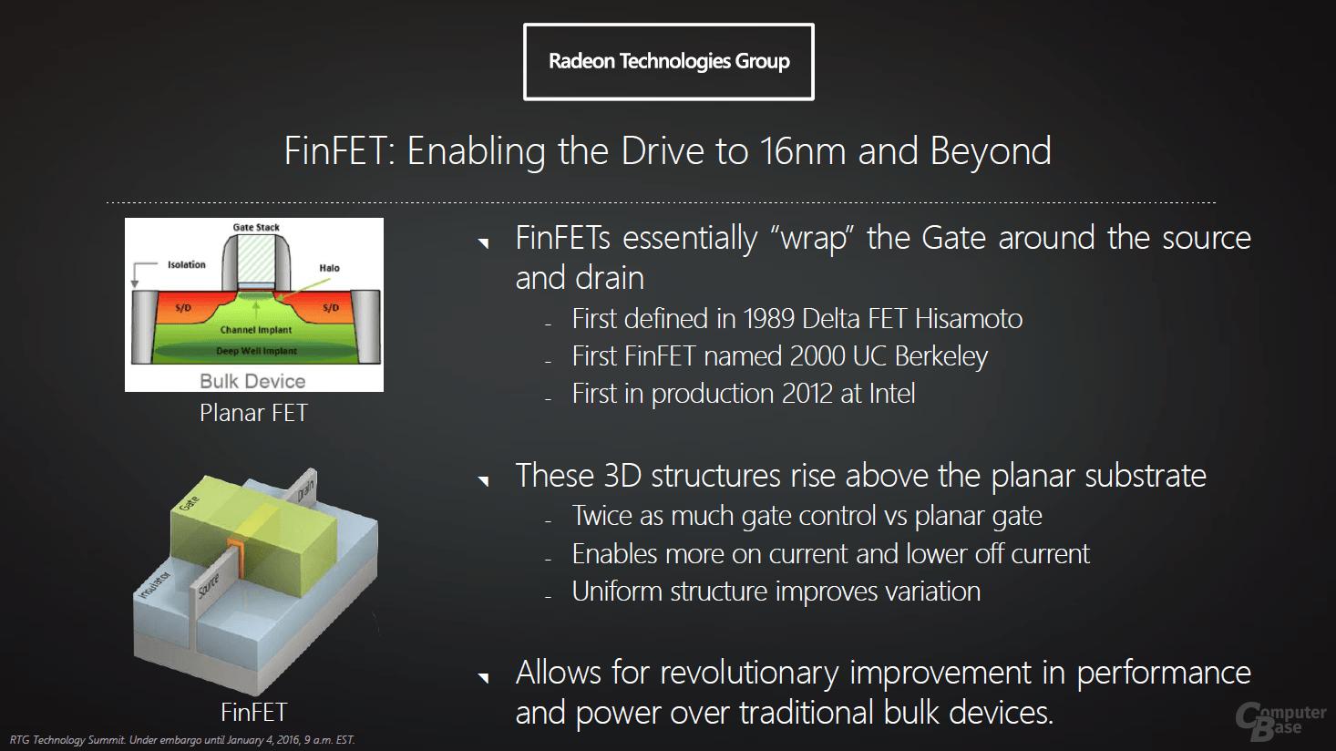 AMD Polaris-Architektur für GPUs