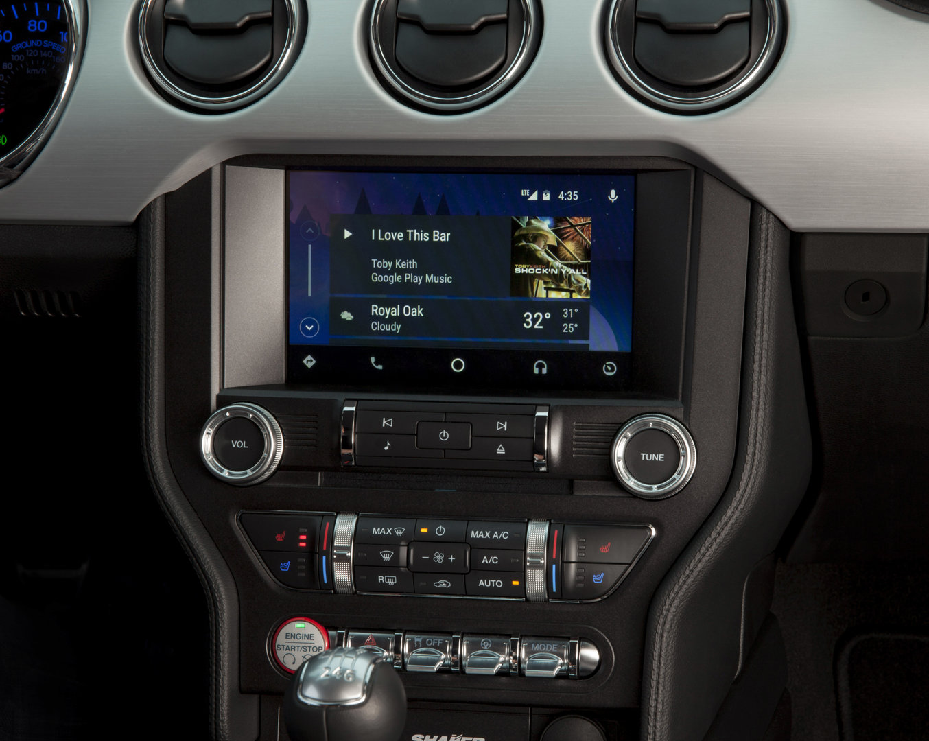 Android Auto über Sync 3 von Ford