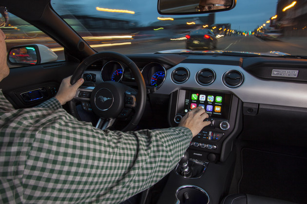 Apple CarPlay über Sync 3 von Ford