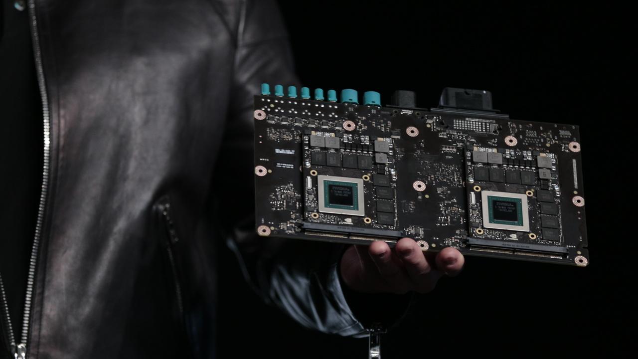 Drive PX 2: Nvidias Auto-Computer mit 2 Pascal-GPUs und 2 Tegra-SoCs