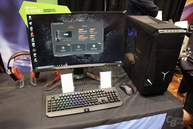Lenovo: Gaming-PC und G-Sync-Monitor in Razer Edition