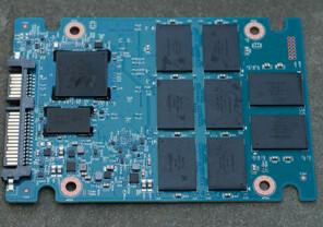 DRAM-Cache von Micron erkennbar