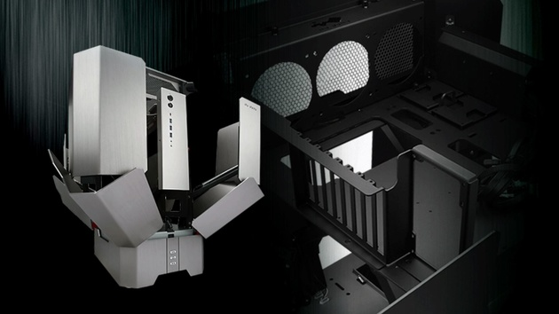 In Win H-Tower: Motorisiertes Transformer-Gehäuse ab Januar für 2.400 €