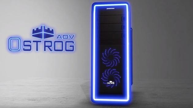 Enermax Ostrog Advance: Midi-Tower mit 262 LEDs und Vegas-Lüftern