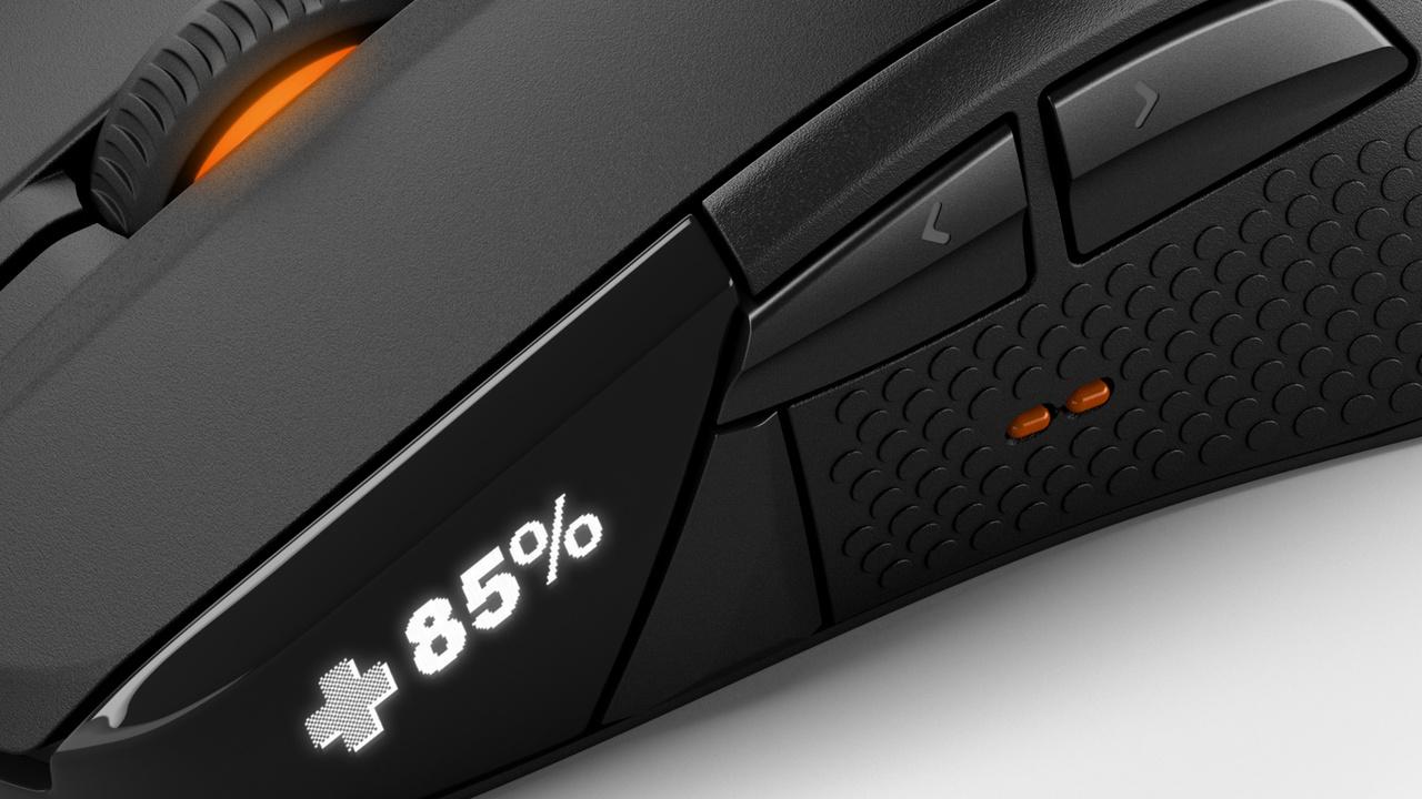 SteelSeries Rival 700: Maus für Spieler mit OLED-Display zählt Headshots