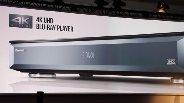 Panasonic: 4K Blu-ray-Player werden in diesem Jahr salonfähig