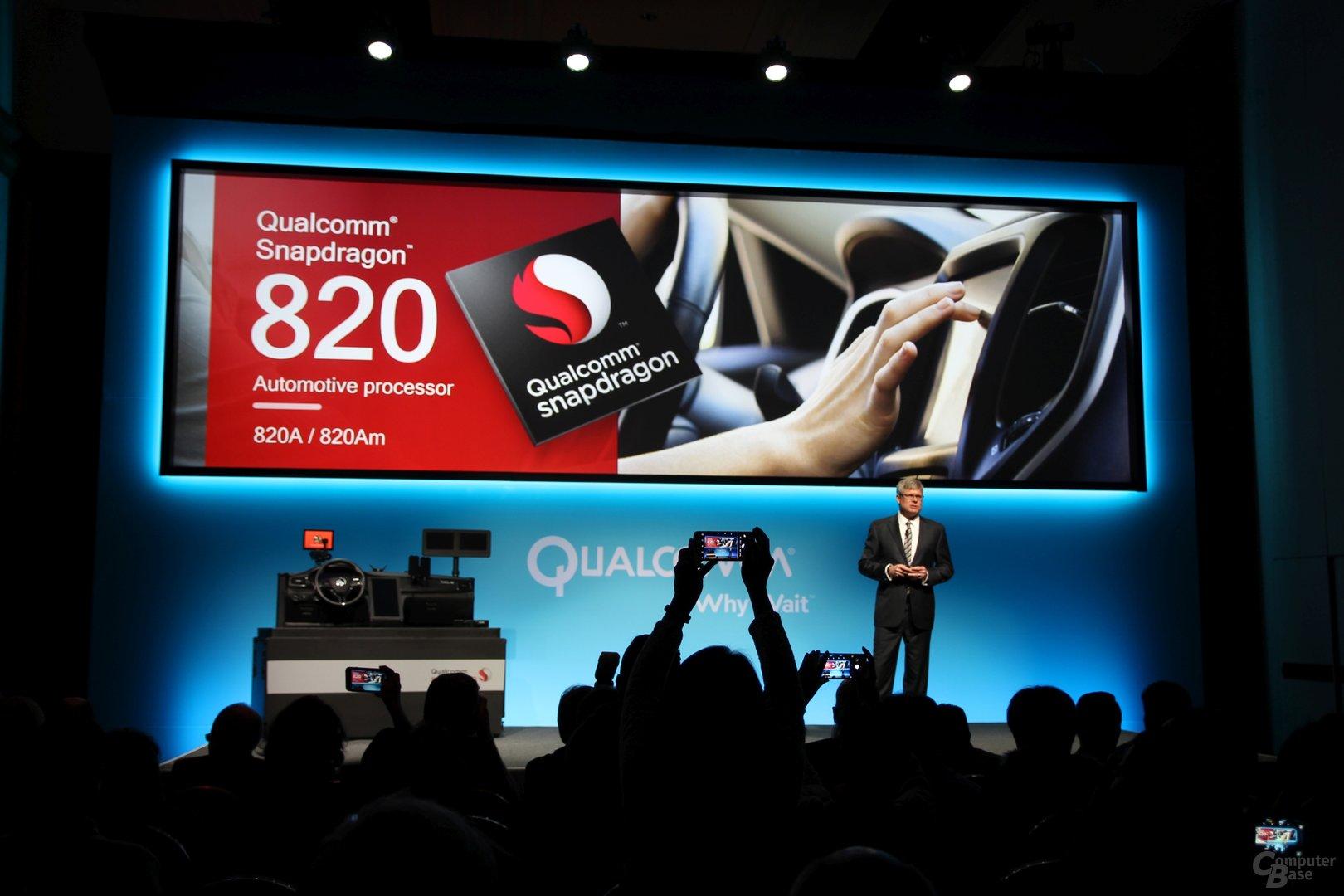 Im zweiten Schritt soll der Snapdragon 820 im Auto folgen