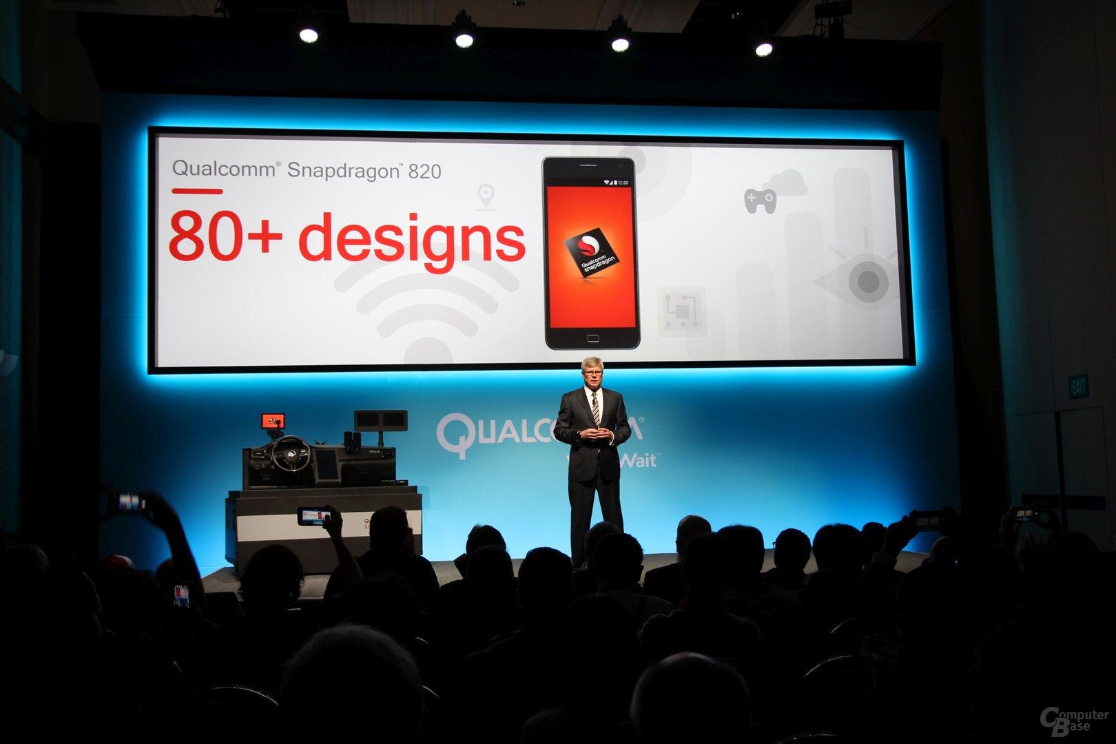Mehr als 80 Design Wins für den Snapdragon 820