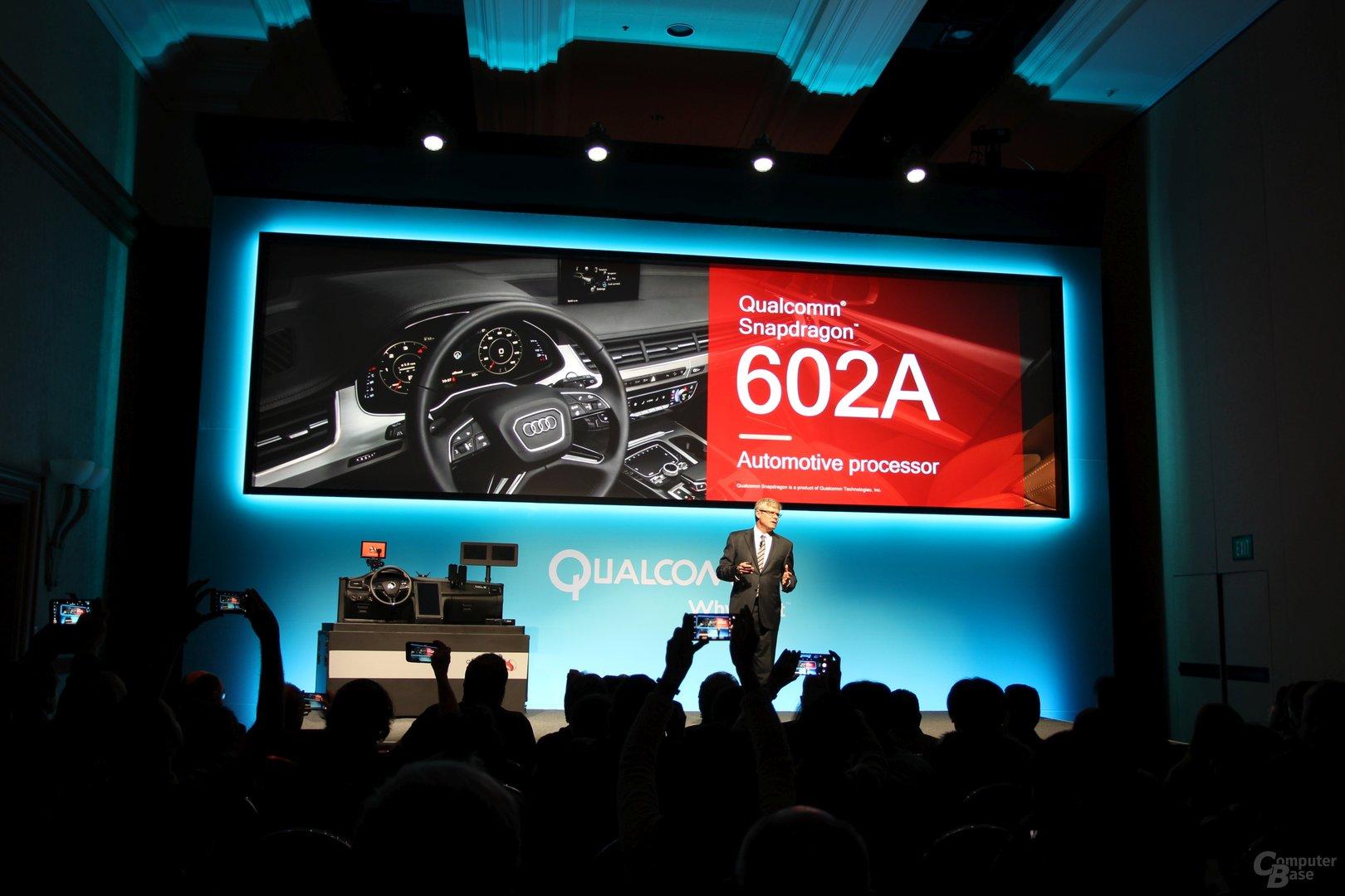Snapdragon 602A kommt in den Audi A5