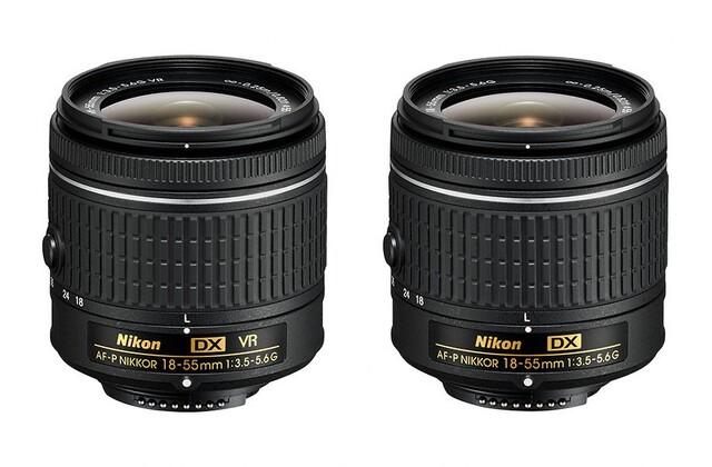 Nikon  AF-P DX NIKKOR 18–55 mm 1:3,5–5,6G VR und AF-P DX NIKKOR 18–55 mm 1:3,5–5,6G