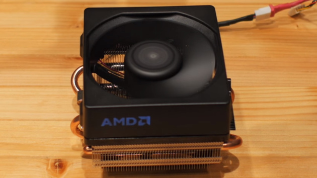 Wraith Cooler: AMD demonstriert leiseren CPU-Kühler mit LED-Logo