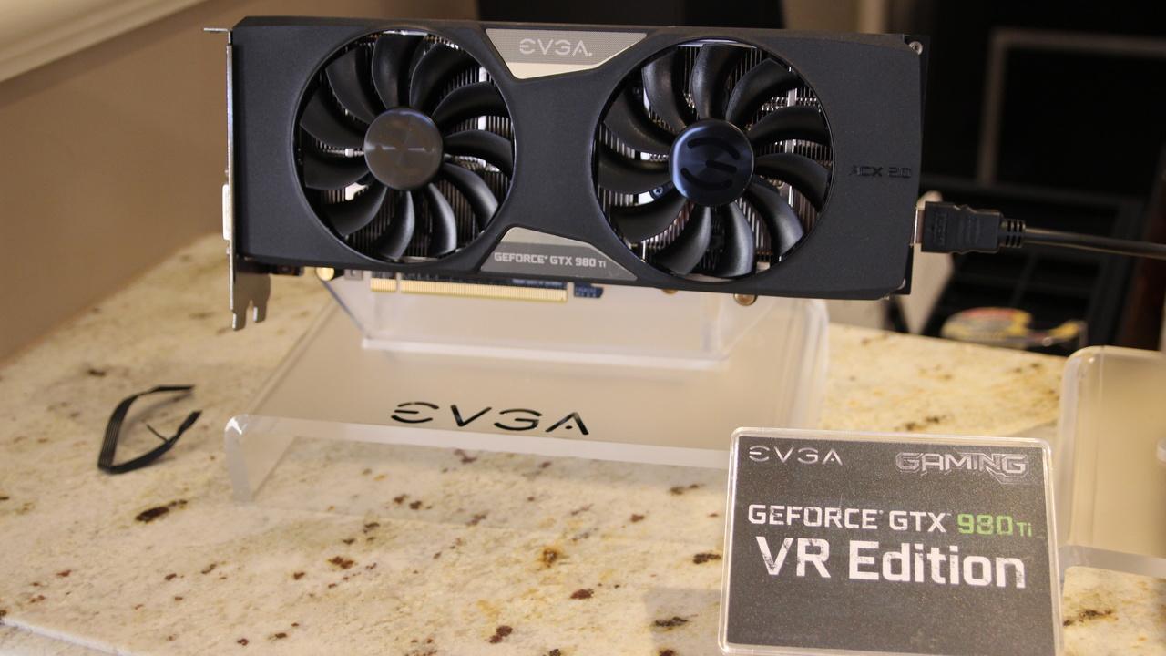 VR Ready: EVGA springt mit speziellen Grafikkarten auf den VR-Zug