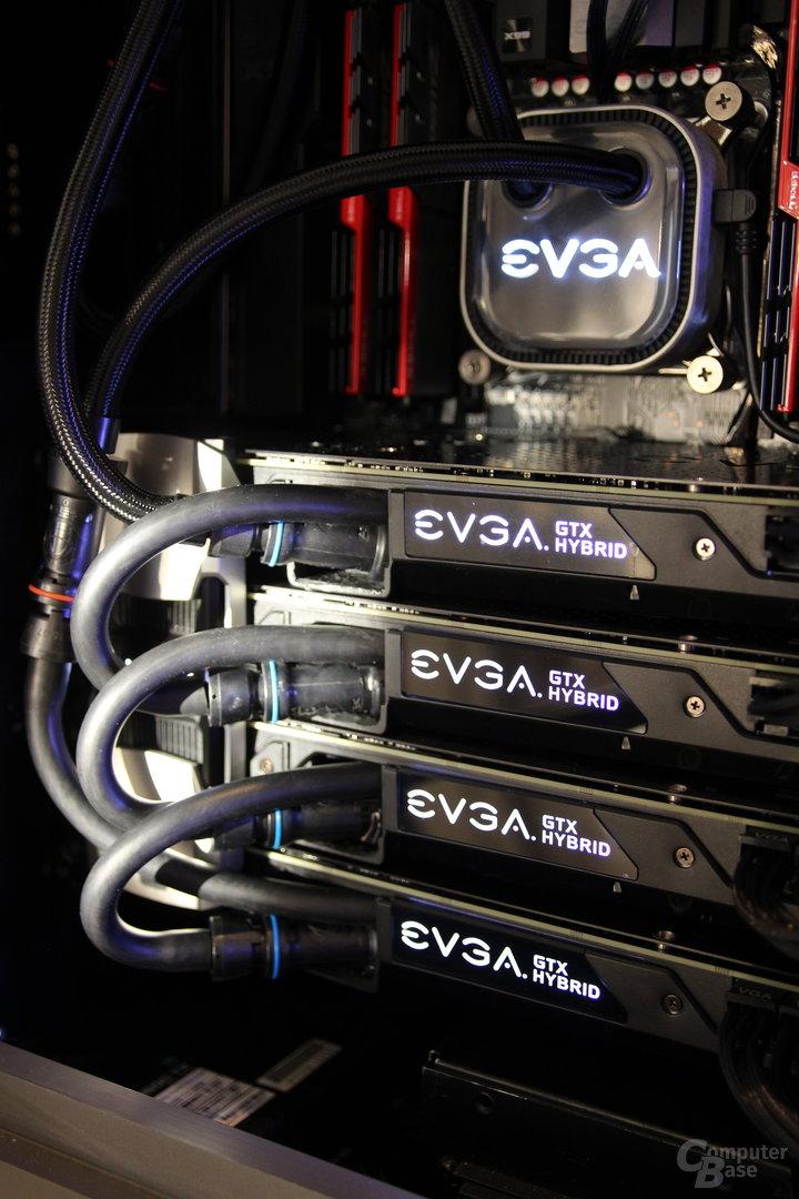 EVGA QRC/QRG-Wasserkühlung