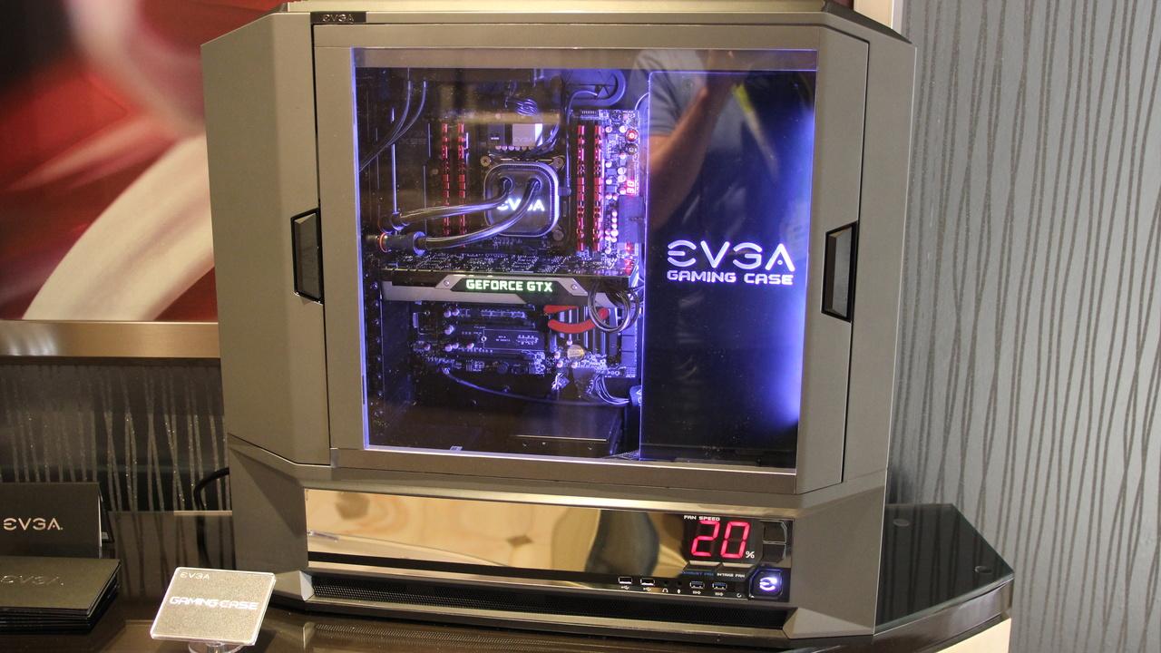 """EVGA """"Gaming Case"""": Erstes Gehäuse für Spieler wird ein Schaukasten"""