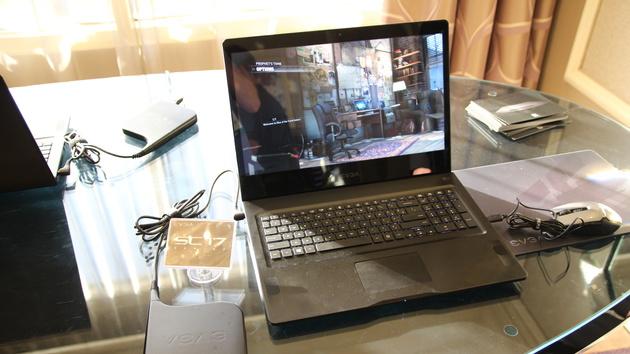 EVGA SC17: Gaming-Notebook mit 4K-Display kann Overclocking