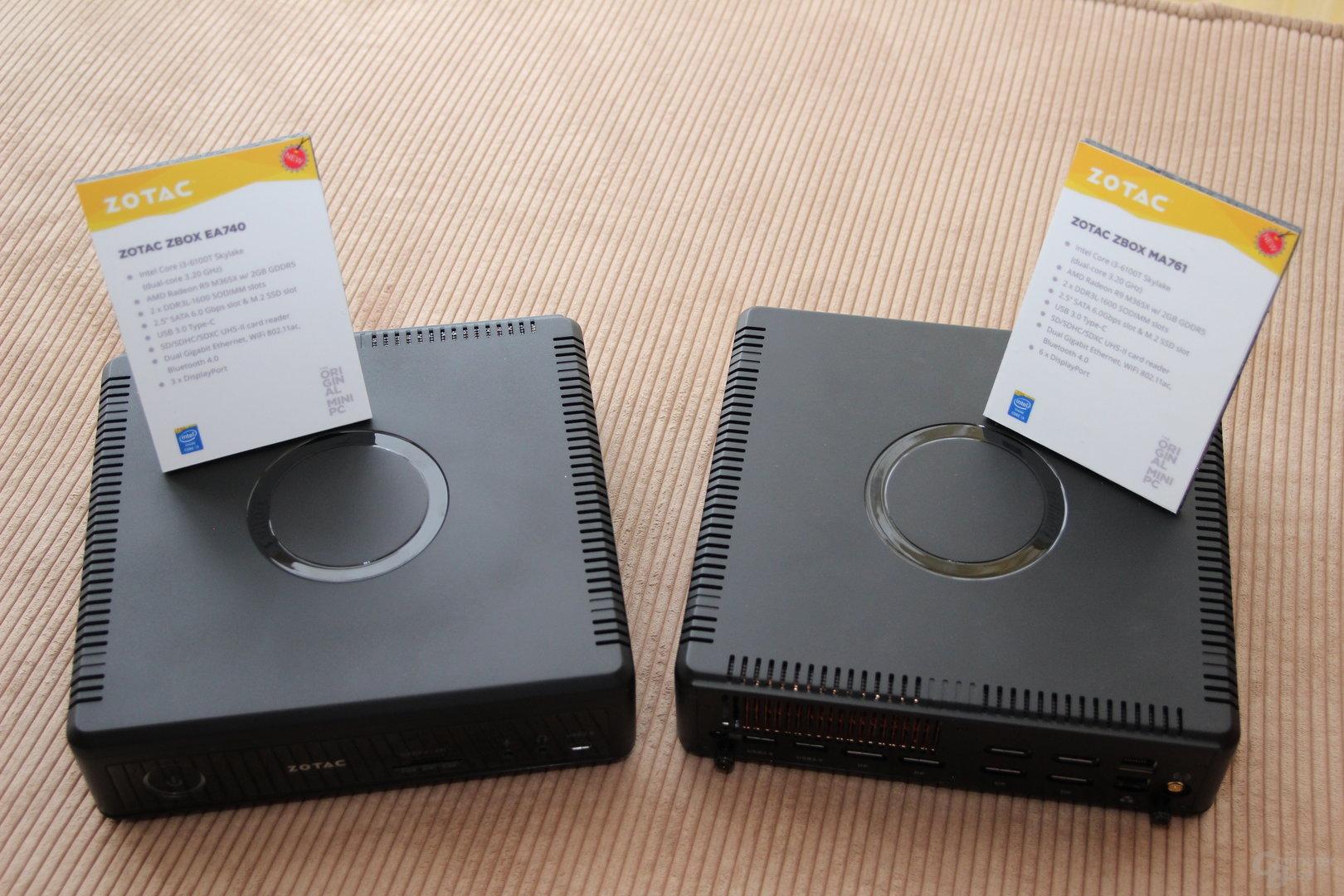 Zotac Zbox mit AMD Radeon R9 300M