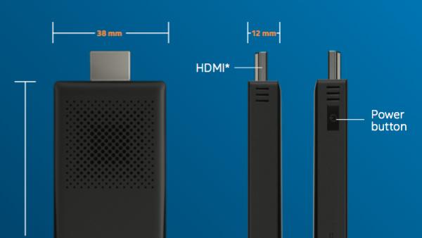 Intel Compute Stick: Mini-PC im HDMI-Stick erhält mit Core M mehr Leistung