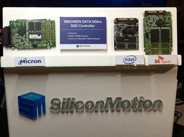 SM2246EN ist mit 3D-NAND diverser Hersteller kompatibel