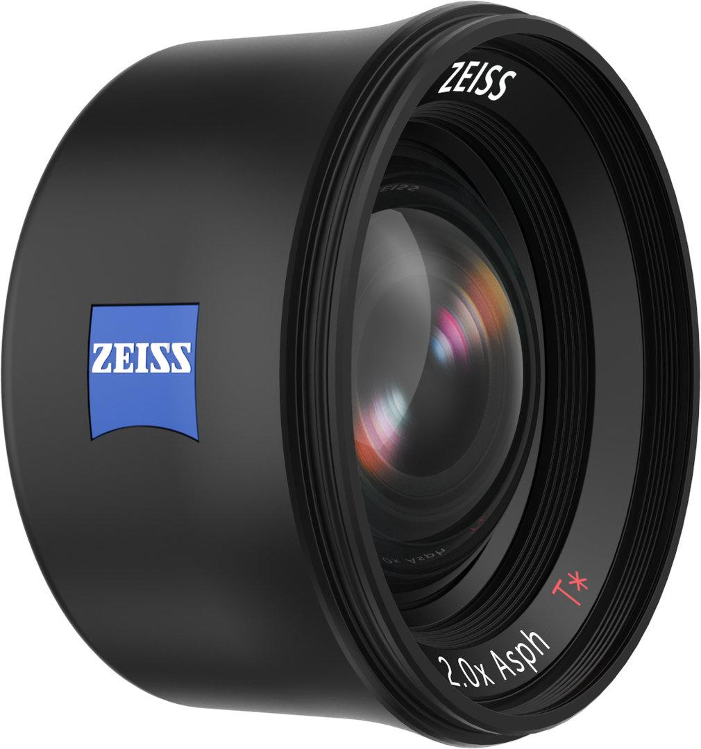 Zeiss und Fellowes ExoLens Teleobjektiv