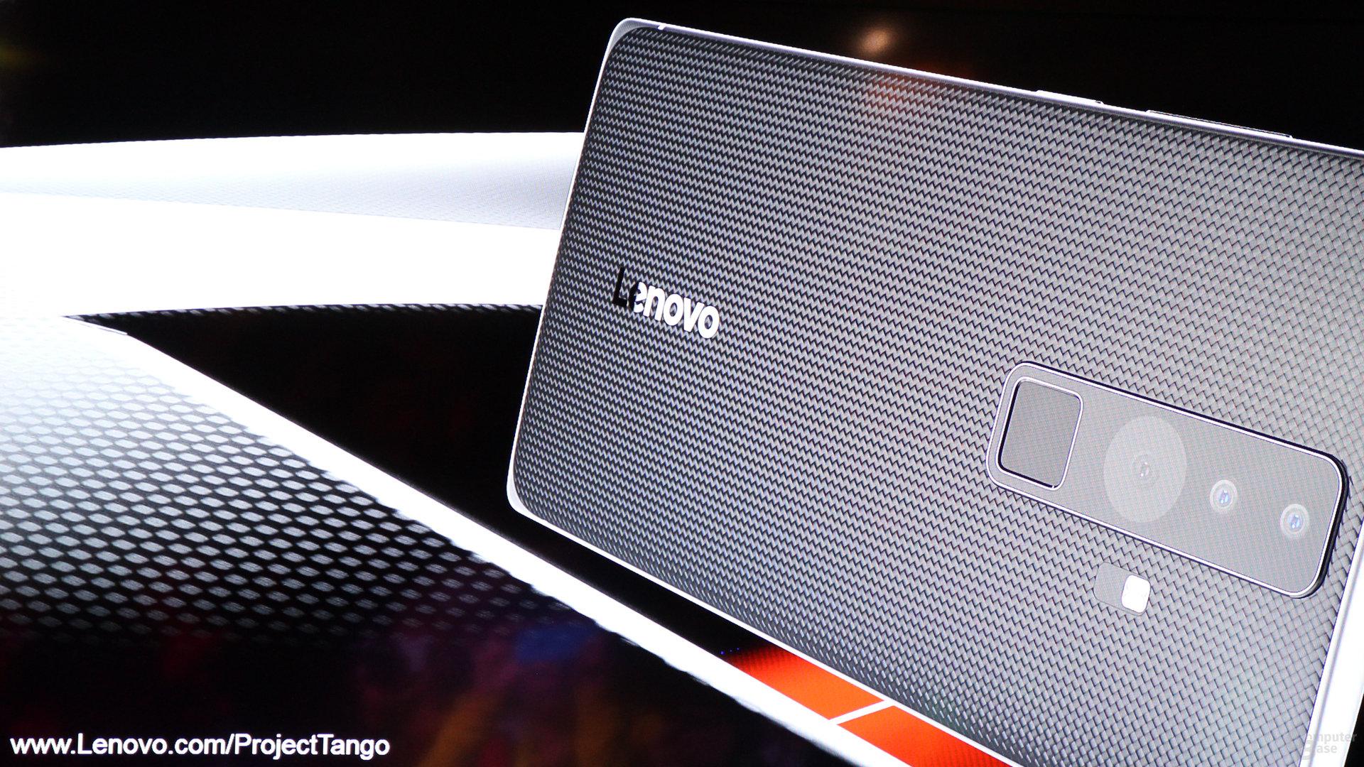 Google und Lenovo bauen ein Consumer-Smartphone mit Project Tango