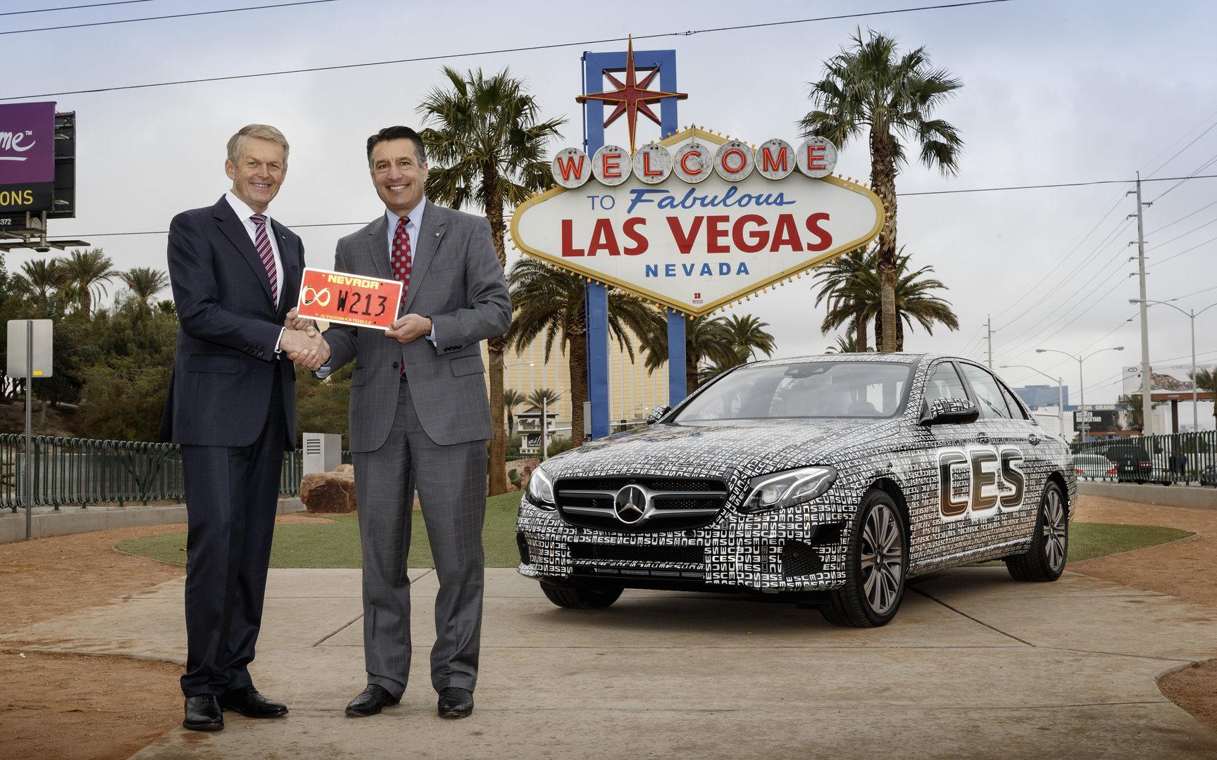 Die neue E-Klasse hat für Nevada eine Lizenz für autonomes Fahren erhalten