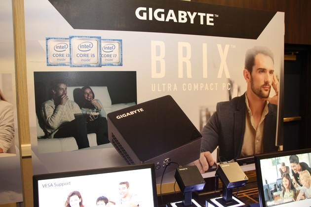Gigabytes Brix-Familie mit Skylake in diversen Formen