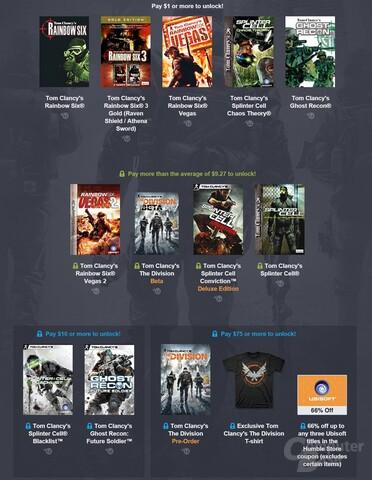 """Das Ubisoft-Angebot wird im """"Weekly Bundle"""" noch einmal angeboten"""