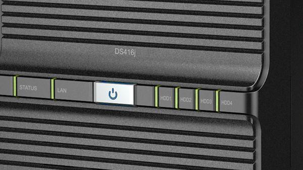 Synology DS416j: Neues SoC für das 4-Bay-Einstiegs-NAS