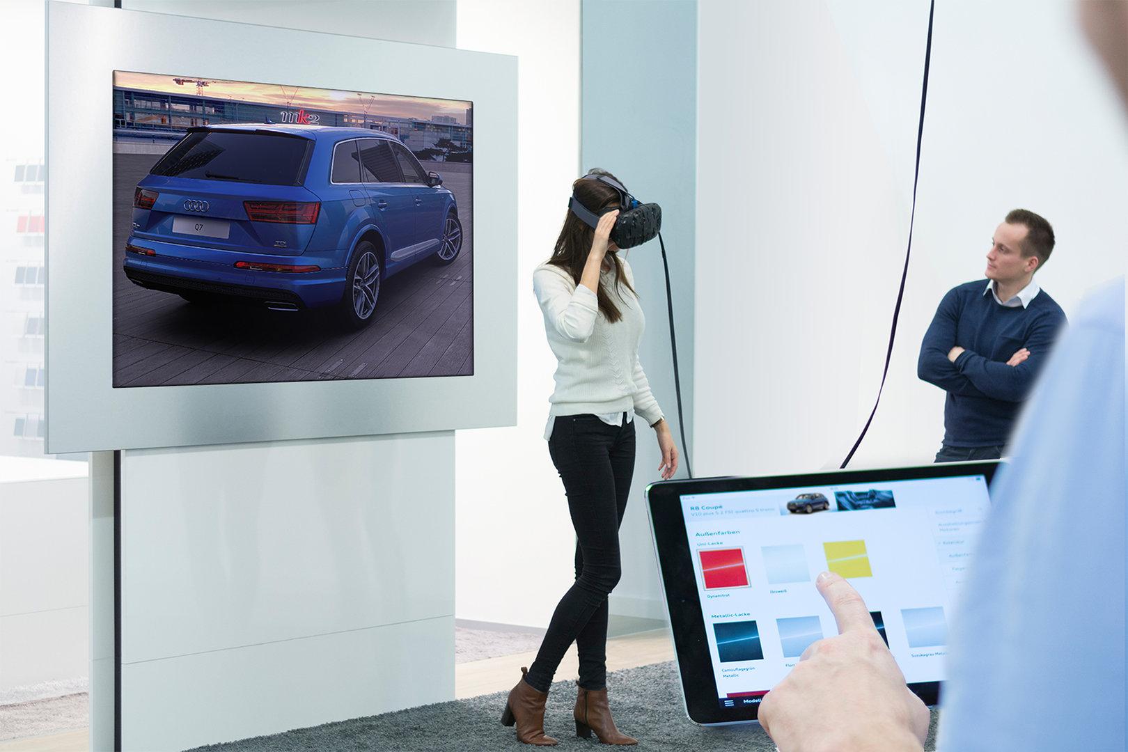 Audi VR Experience mit HTC Vive