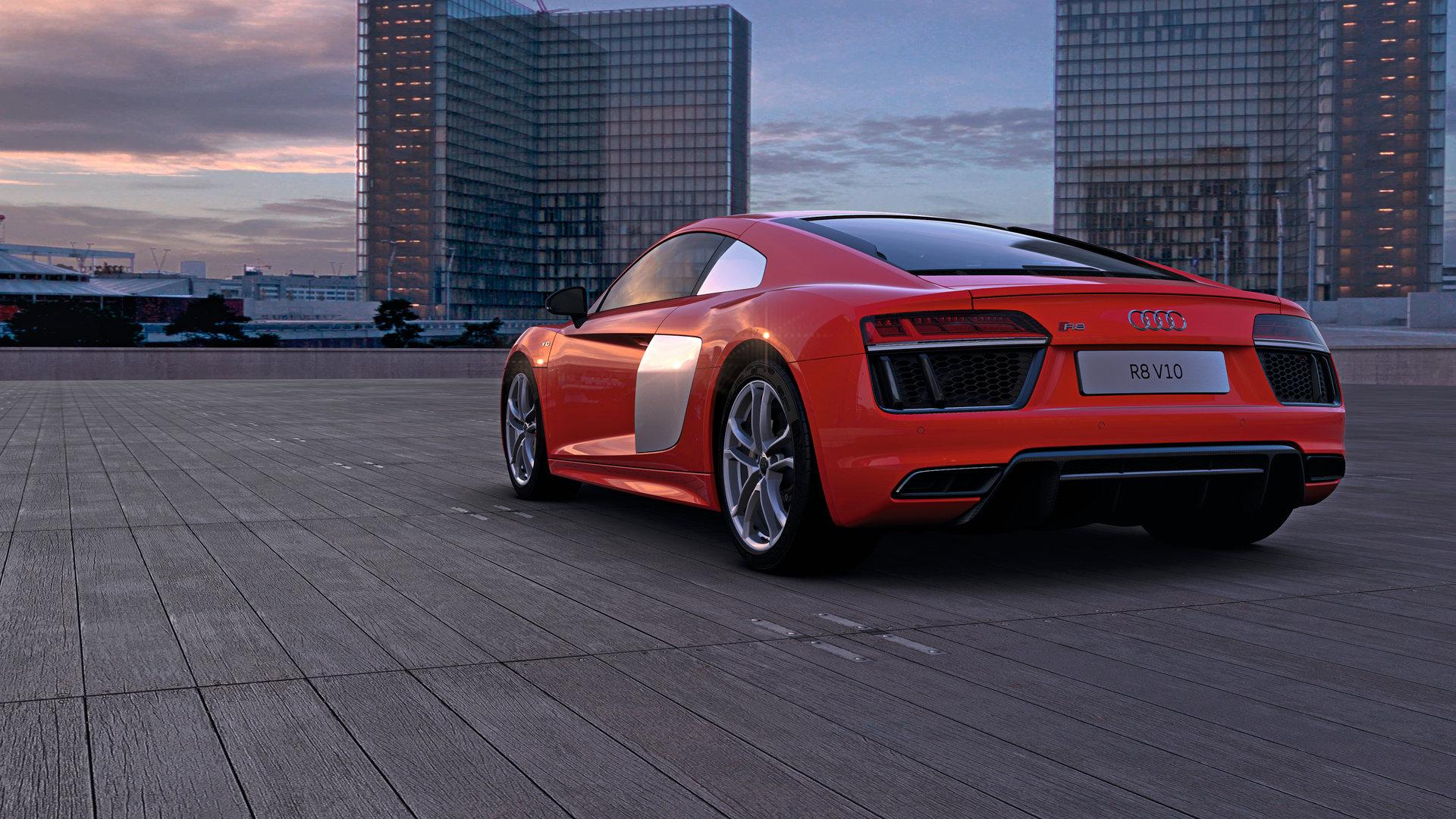 Audi R8 in VR