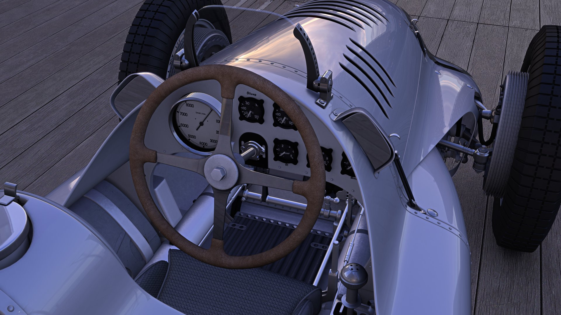 Auto Union Typ D in VR
