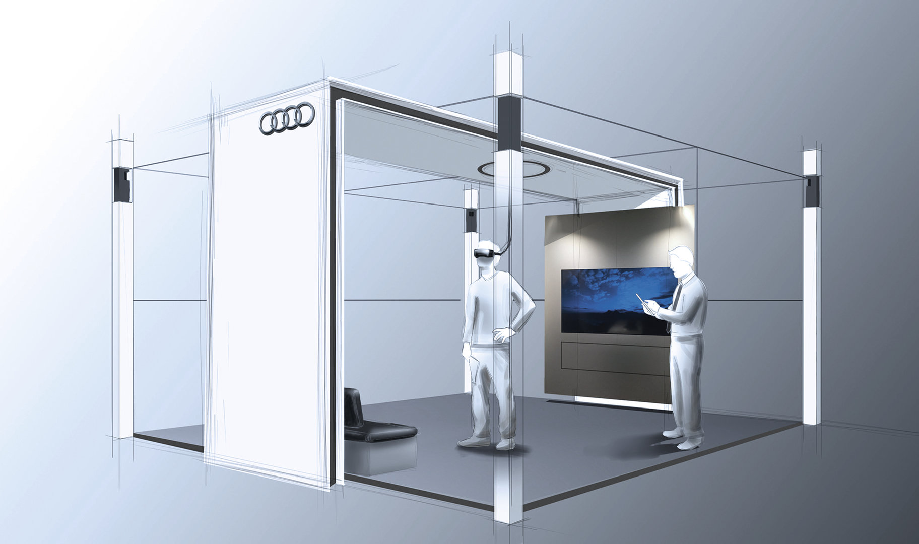 Audi VR Experience mit HTC Vive