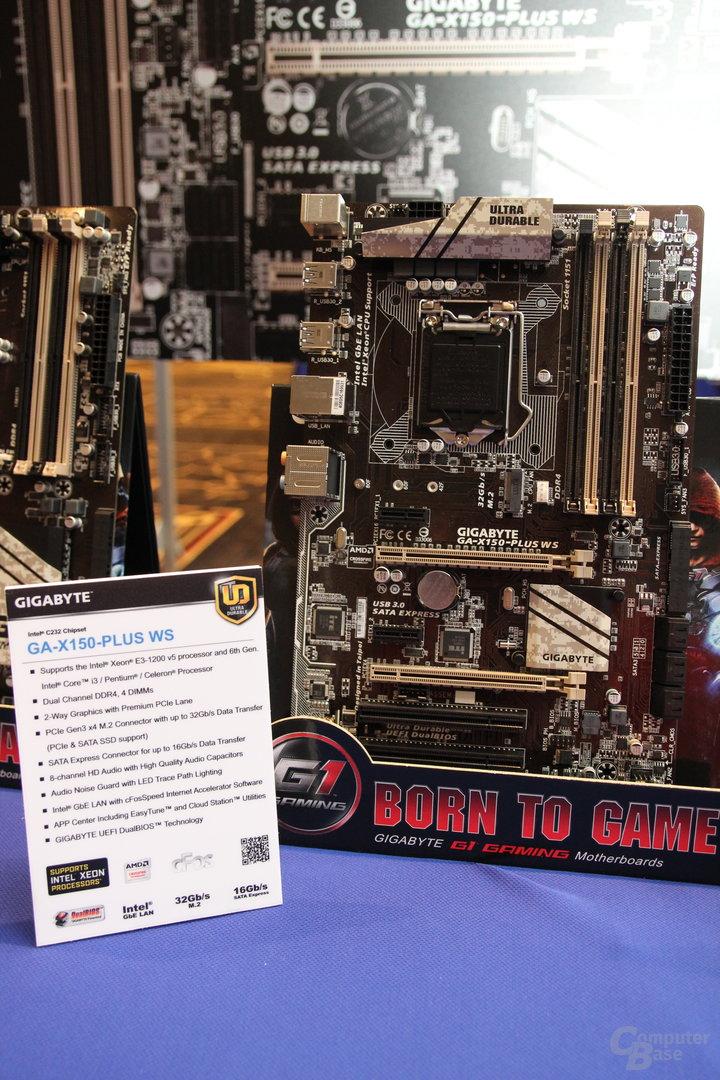 Gigabyte-Mainboards für Intel Xeon E3 v5 (Skylake)