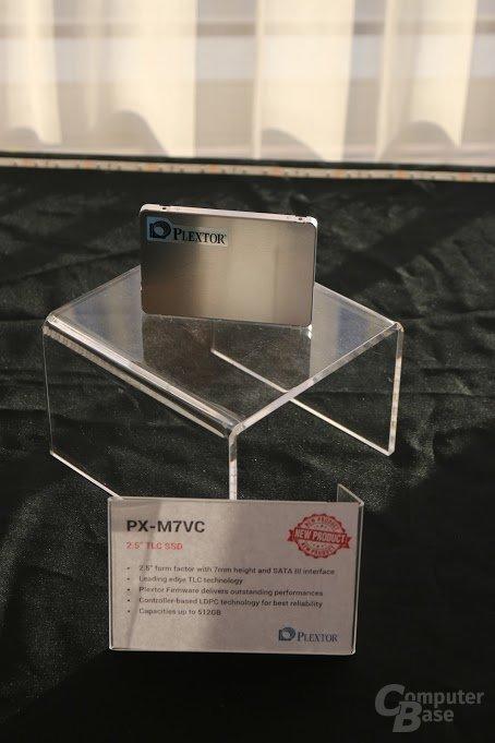 "Plextor M7V (2,5"") mit TLC-Speicher"