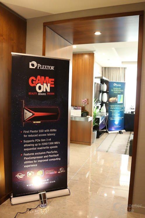 Plextor Suite auf der CES 2016