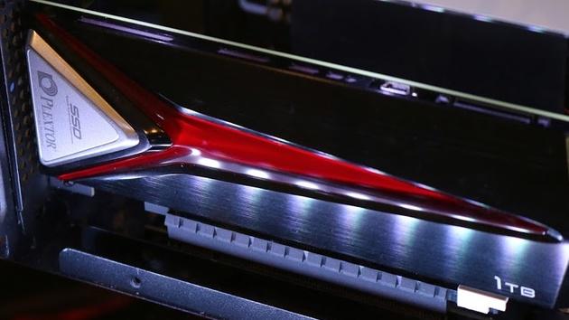 Plextor M8Pe: NVMe-SSD mit bis zu 1TB und als M.2 mit Kühler
