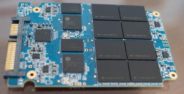 4-TB-SSD als Prototyp von Mushkin