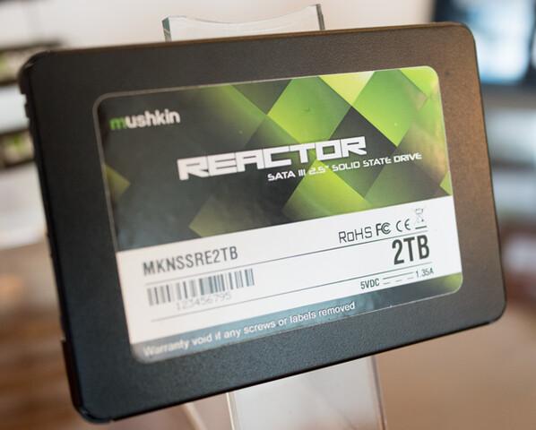 Mushkin Reactor SSD mit 2 TB
