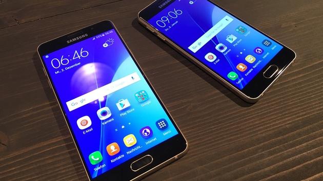 Samsung Galaxy A3 und A5: Smartphones mit Metallrahmen ab heute verfügbar