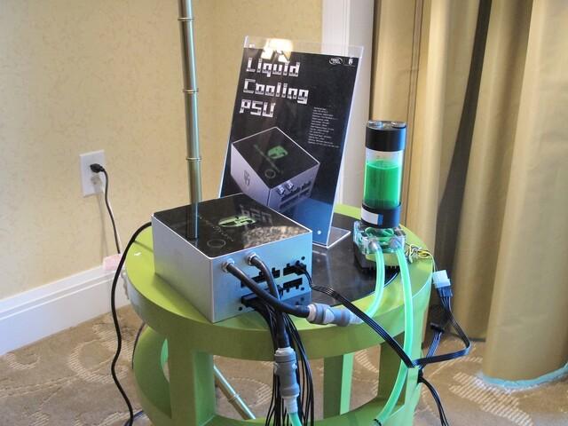 Netzteil mit Wasserkühler von Deepcool