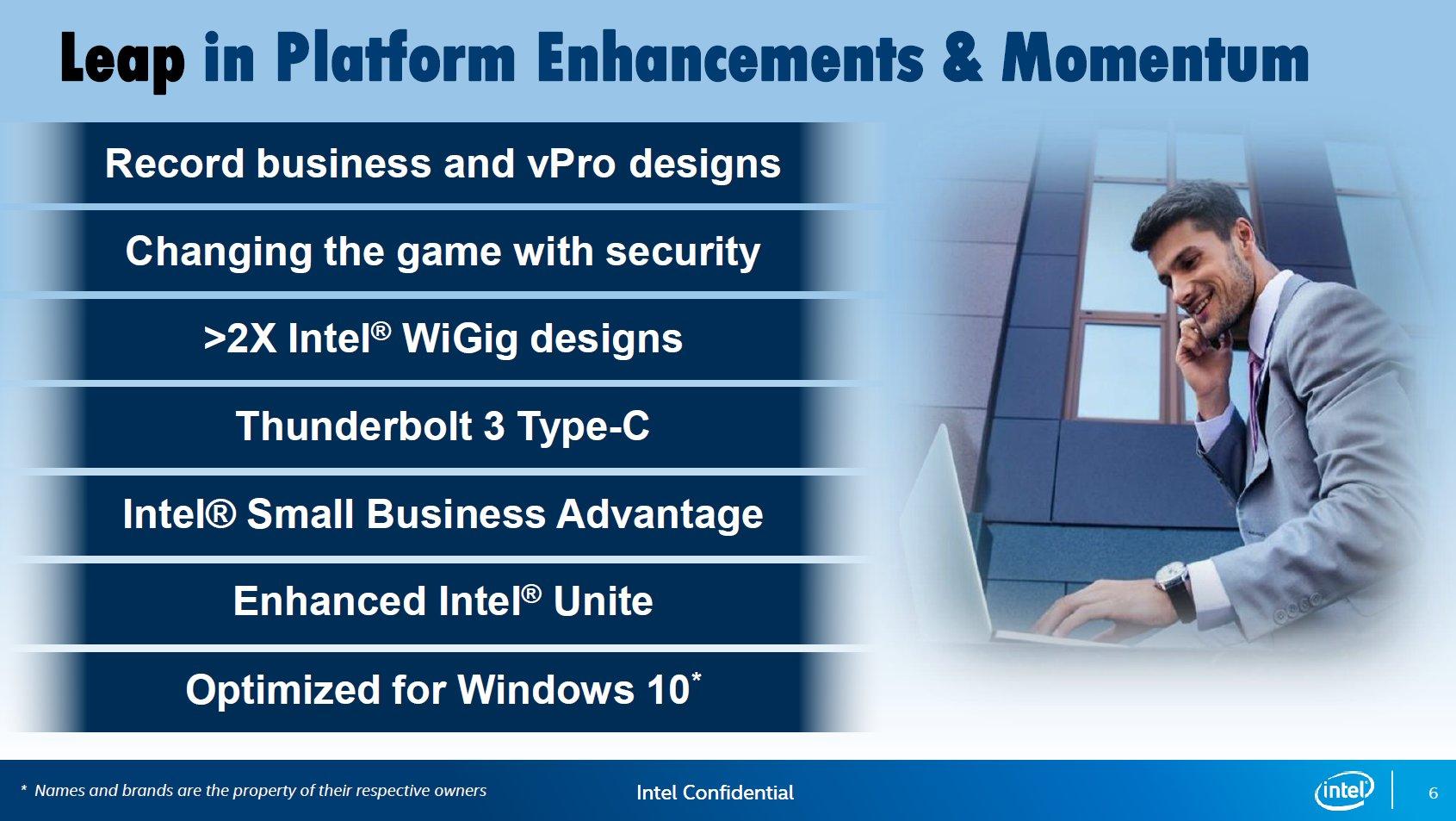 Neue Intel-vPro-Plattform auf Skylake-Basis